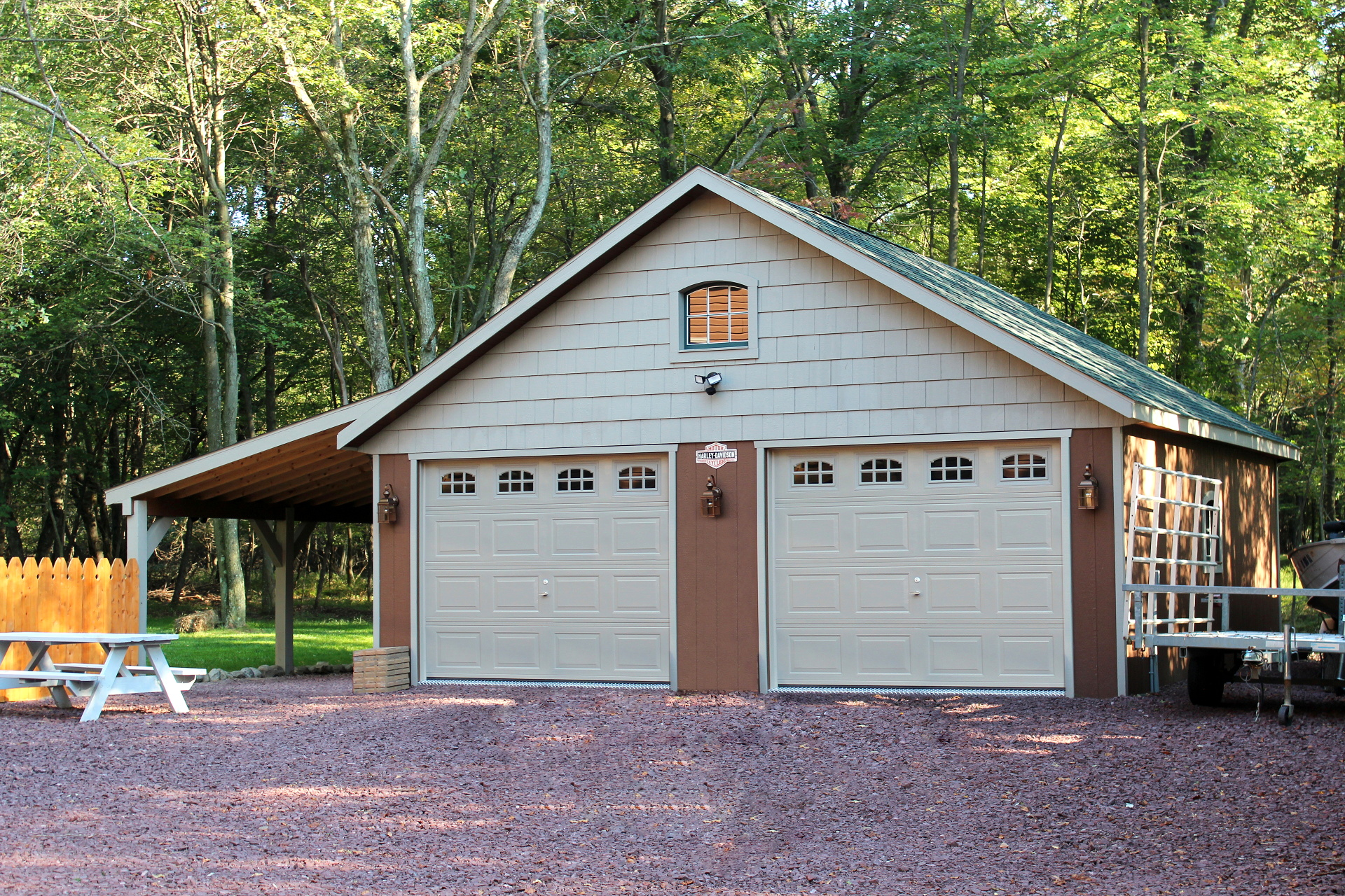 Premo products for quality sheds in the syracuse ny and for Garage overhang