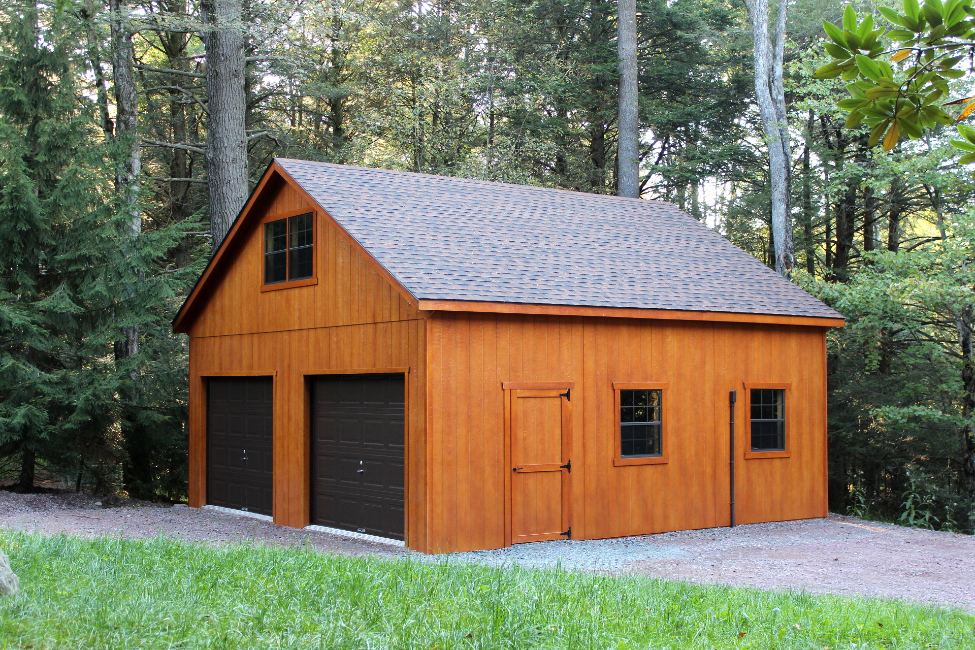 Detached Garage Ideas 12 X 24 Barn Gambrel Shed Projectdiy